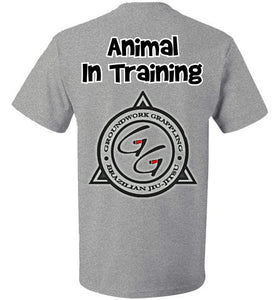 Animal In Training T-shirt - Teerific Tee - 4