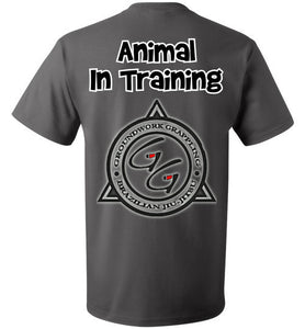 Animal In Training T-shirt - Teerific Tee - 8