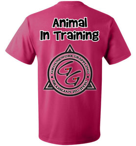 Animal In Training T-shirt - Teerific Tee - 10