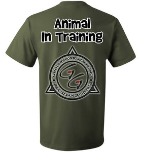Animal In Training T-shirt - Teerific Tee - 14