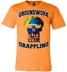 Ground Work Grappling Elite Team T-Shirt - Teerific Tee - 9
