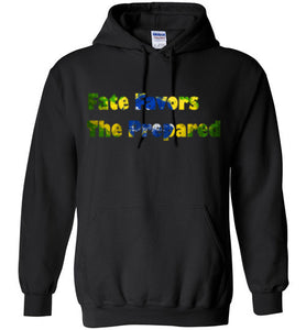 Fate Favors The Prepared Hoodie - teerific tees