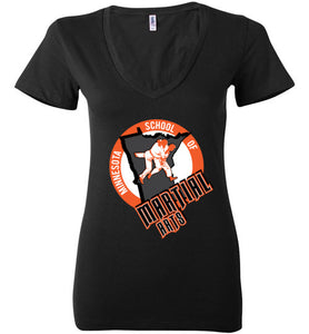 MSMA Muay Thai Women's V Neck Shirt