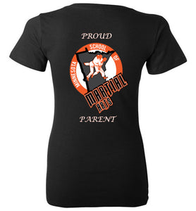 MSMA Parents Women's V Neck Shirt