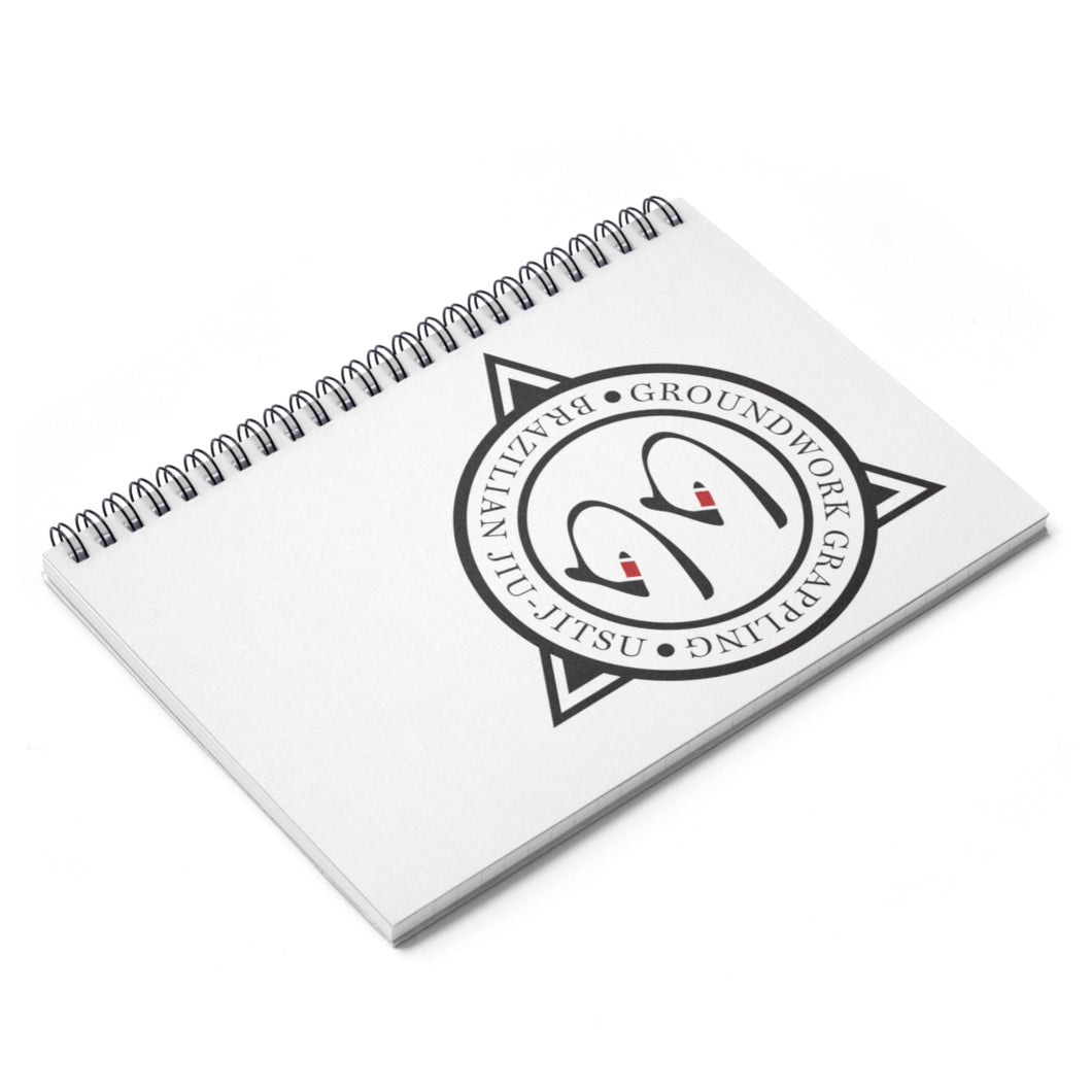 Jiu Jitsu Journal Spiral Notebook - Ruled Line