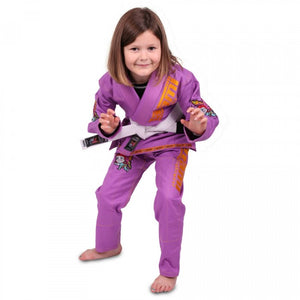 KID'S MEERKATSU ANIMAL GIS - PURPLE
