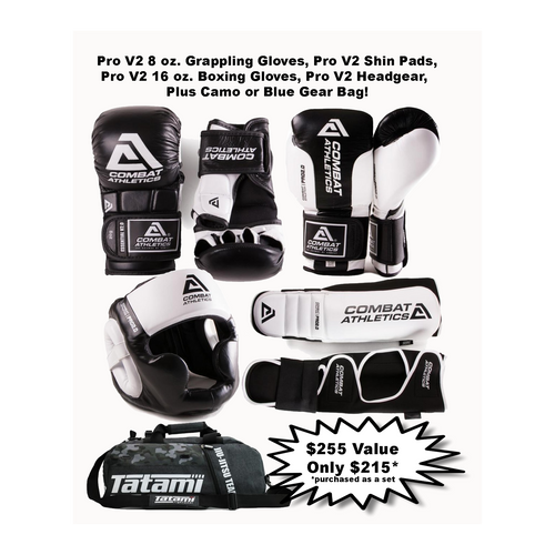 Combat Athletics Pro V2 Sparring Gear set