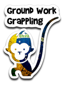 GG Monkey Decal - Teerific Tee