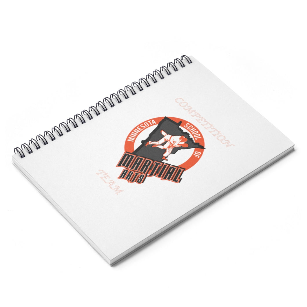 MSMA Spiral Notebook - Ruled Line