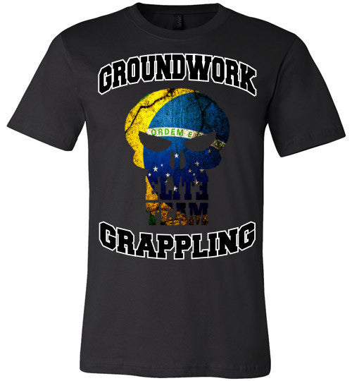 Ground Work Grappling Elite Team T-Shirt - Teerific Tee - 1