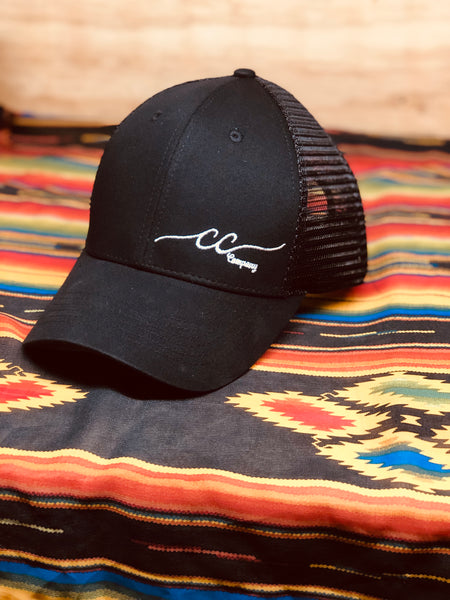 CC Black Logo Hat