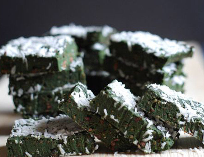 Spirulina Trail Mix Bars