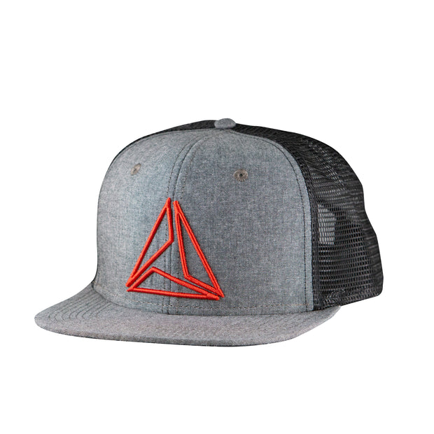 JOHN POILEUX COLLAB TRUCKER - GRY/RED