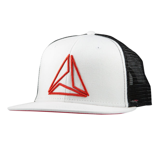 TRIAD RAISED TRUCKER - BLK/WHT/RED