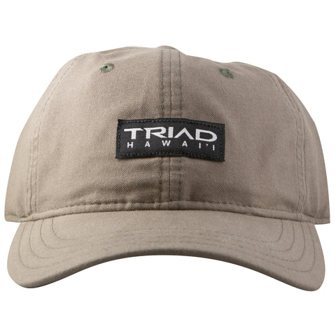 TRIAD HAWAI'I PATCH CAP - KHAKI