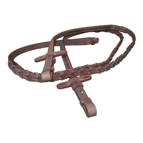 Laced Reins by Barnes Tack Room