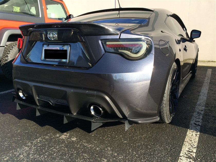 Type 1 Rear Diffuser Driveway Labs