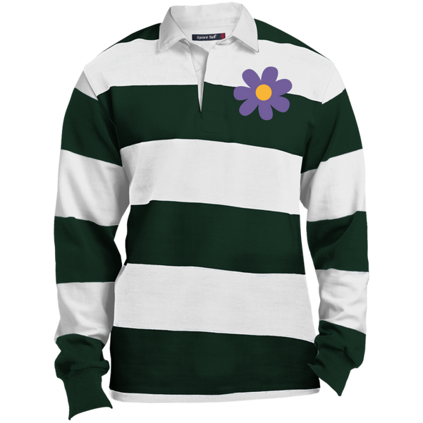 Flower rugby polo