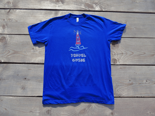 Travel guide tee