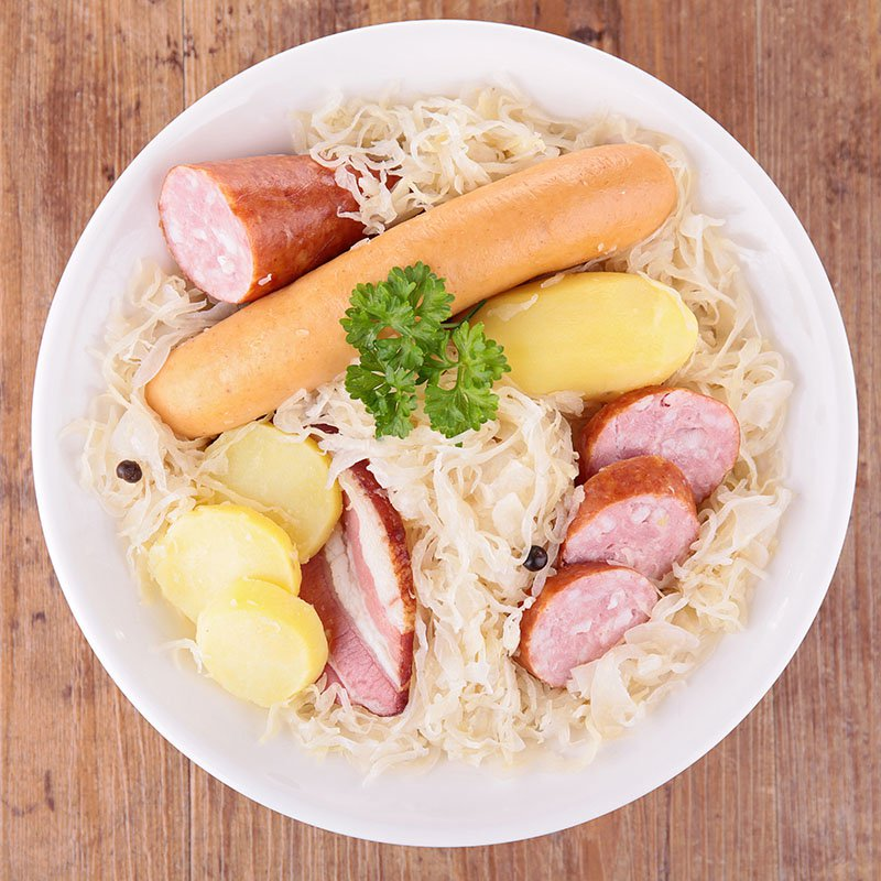 Traditionnelle choucroute