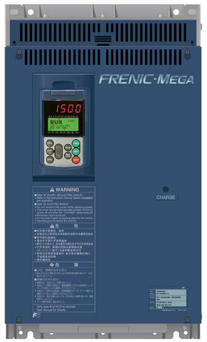 Fuji Electric Frenic MEGA 5HP 460V Inverter - FRN005G1S-4U