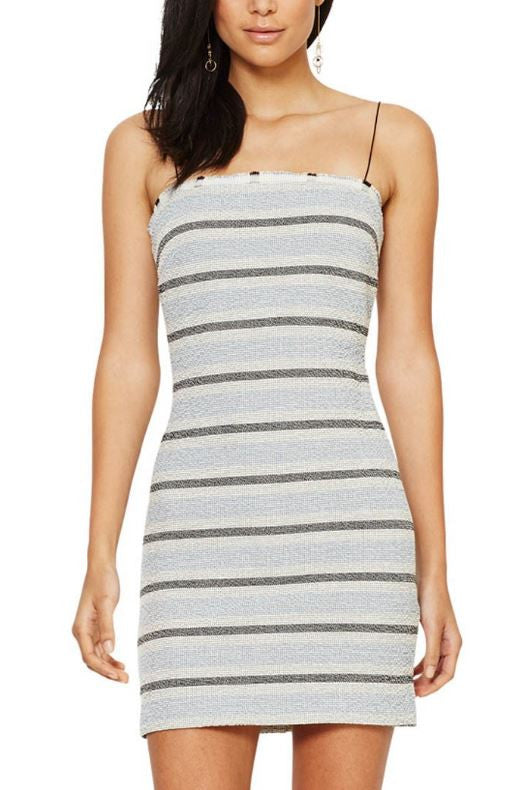 Bec & Bridge Icebergs Mini Dress in Blue - Never Twice