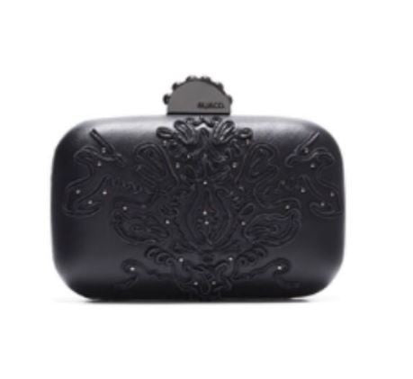 MIMCO Regent Hardcase Clutch in Black - Never Twice