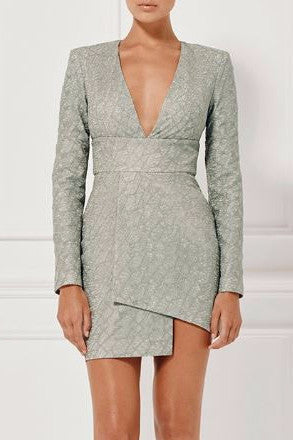 Misha Collection Natasha Dress Sage - Never Twice