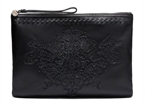 MIMCO Regent Large Pouch in Black - Never Twice