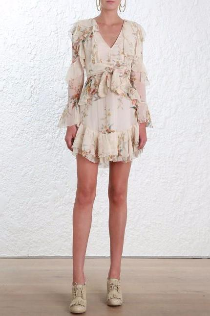 Zimmermann Folly Flutter Dress