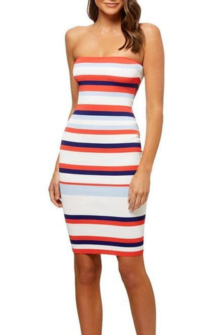 Kookai Porto Strapless Dress - Never Twice