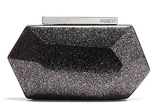 MIMCO Flicker Hardcase Clutch Black - Never Twice