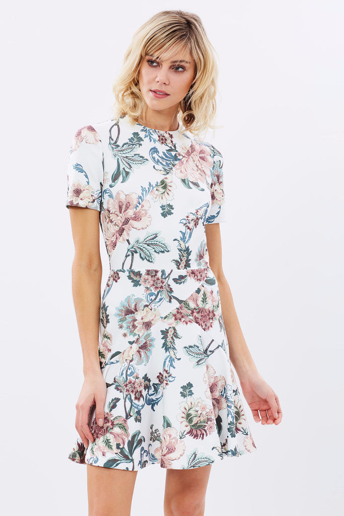 Lover the Label Dahlia Scuba Dress - NO LONGER AVAILABLE - Never Twice