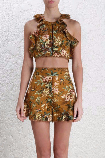 Zimmermann Tropicale Flutter Bodice and Short Set - NO LONGER AVAILABLE - Never Twice