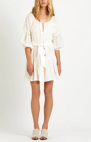 Steele. Bisou Smock Dress in Ivory