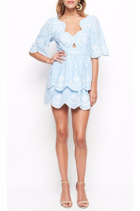 Alice McCall Moloko Dress in Sky - Never Twice