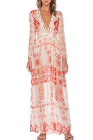 For Love & Lemons Barcelona Maxi Dress - Never Twice