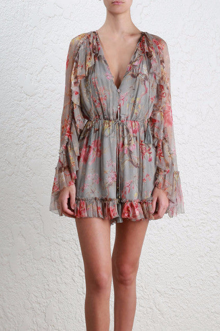 Zimmermann Mercer Floating Playsuit - Never Twice