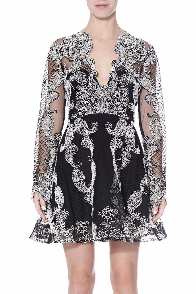 Thurley Paisley Princess Dress - Never Twice