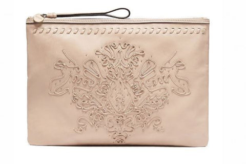 MIMCO Regent Large Pouch in Pancake - Never Twice