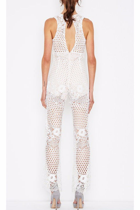 3caa998e2b4c Alice McCall New Romantics Jumpsuit in White - Never Twice. Images   1   2    3 ...