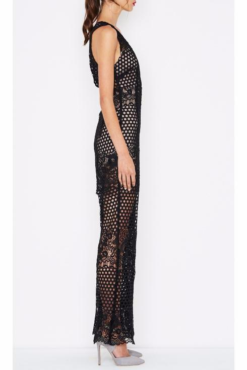 09a247de1277 Alice McCall New Romantics Jumpsuit in Black - Never Twice. Images   1   2    3 ...