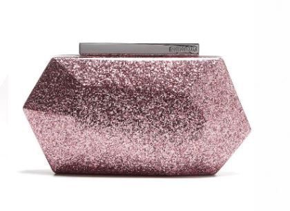MIMCO Flicker Hardcase Clutch Rose - Never Twice