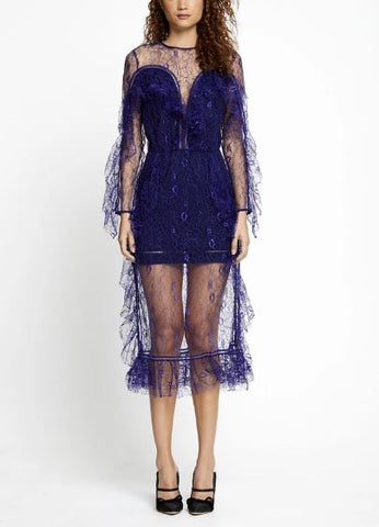 Alice McCall Senorita Dress in Indigo