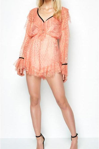 Alice McCall Get It Girl Playsuit Rose