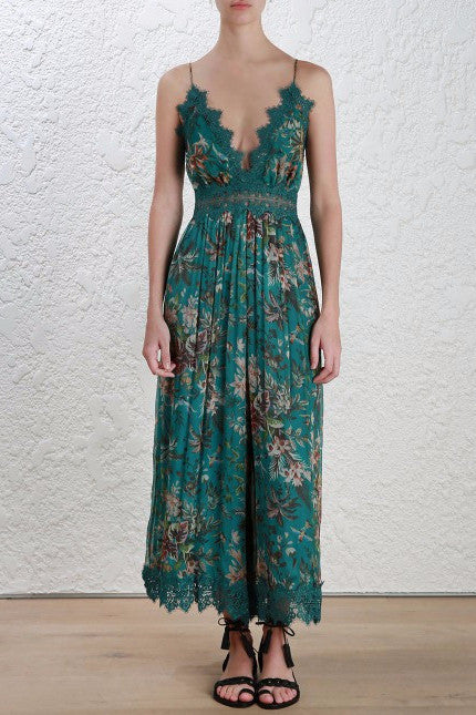 Zimmermann Tropicale Crinkle Jumpsuit - Never Twice