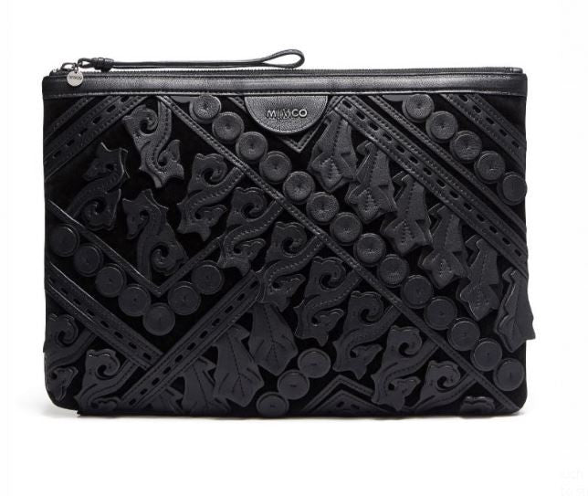 MIMCO Stirling XL Pouch in Black - Never Twice