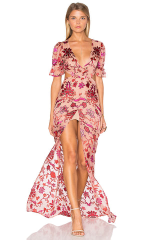 For Love & Lemons Saffron Maxi Dress - Never Twice