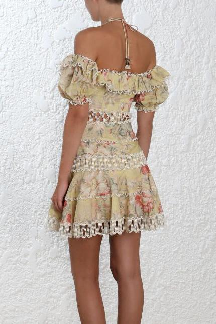 Melody off-the-shoulder dress Zimmermann