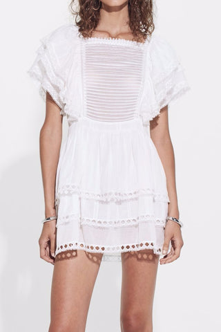 SIR the label Dylan Ruffled Mini Dress - Never Twice